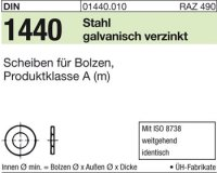 Scheiben für Bolzen 100x125x14