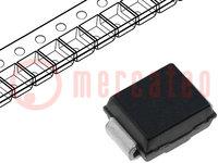 Dióda: Schottky egyenirányító; SMD; 200V; 3A; SMB; Ufmax:590mV