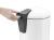 Tret-Abfallsammler, Hailo ProfiLine Solid Design M, 12 Liter, Edelstahl, Inneneimer: verzinkt Bild 5