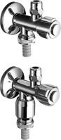Schell 38410699 Doppelanschluss-Eckventil COMFORT mit RFV mit RB mit ASAG 1/2 c