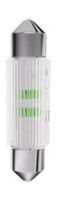 Produktabbildung - S+H LED Soffitte 11x39mm 24-28 Volt AC/DC warmweiß 2 Chip mit Brückengleichrichter