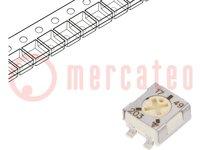 Potentiometer: für den Einbau; 1-Drehung; 20kΩ; 250mW; SMD; ±20%