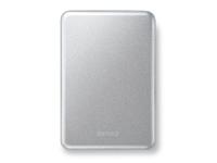 "Buffalo MiniStation Slim USB 3.0 2.5"" Extra Slim external HDD 1TB, silber Bild 1"