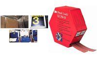 3M Dual Lock Flexibler Druckverschluss, Farbe: transluzent (9065045)
