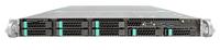 Intel R1208WT2GSR server barebone Intel® C612 LGA 2011-v3 Rack (1U) Zwart, Zilver