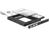 Slim SATA 5.25? Einbaurahmen für 1 x 2.5? SATA HDD bis 12,5 mm, Delock® [61993]