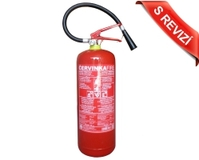 Hasicí přístroj práškový 6kg s revizí (34A/183B/C) - Práškový 6kg *KONTROLA*