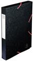 Exacompta Elastobox Cartobox rug van 4 cm, zwart, kwaliteit 7/10e