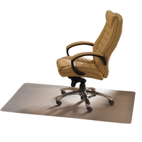 Cleartex Advantagemat Chair Mat For Carpets Rectangular 900x1200mm Clear Ref FCPF119225EV