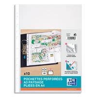ELB S/10 POCH PERF A3 PVC 1/10 400024861
