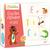 AVENUE MANDARINE Boîte puzzle thème alphabet 28 puzzles de 3 pièces 11 x 6 cm, bords arrondis