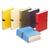 5 ETOILES Chemise extensible recouverte de papier toilé rouge