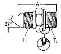 AEROQUIP GG106-NP16-12 Adaptor