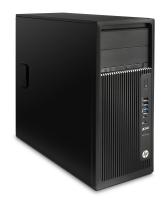 HP Z DWS BUNDEL Z240 MT 4Core 3.5GHz CPU, AMD W5100, 32GB geheugen, 512GB SSD, 2TB HDD (J9C19ET+J3G92AT+QB576AT) 3.5GHz E3-1245V5 Mini Toren Zwart