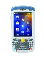 "Zebra MC55X PDA 8,89 cm (3.5"") 640 x 480 Pixels Touchscreen 365 g Blauw, Wit"