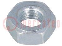 Moer; M10; Bedekking: zink; Bestemming: GN40; Mat: staal; DIN:934