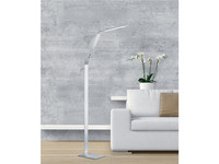 Stehlampe Lichtfarbe wählbar LED Stehleuchte Messing verstellbar /& dimmbar