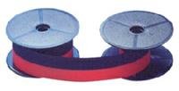 Farbband für Schreibmaschine Gr. 51 S+U, Seide, 6 m x 13 mm, schwarz/rot
