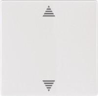 Funk-Rollladentaster CONNECT mit Sensoranschluss, polarweiß, System M