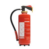 MINIMAX ABC Auflade-Pulverlöscher PU 9 G, Inhalt 9 kg, -30 bis +60 °C