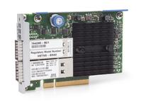 Hewlett Packard Enterprise InfiniBand FDR/Ethernet 10Gb/40Gb 2-port 544+FLR-QSFP Adapter Ethernet / Fiber 40000 Mbit/s Internal