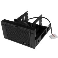 """StarTech.com BRACKET425F drive bay panel 2x 5,25"""" Carrierpaneel Zwart"""
