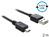 Anschlusskabel USB 2.0 EASY Stecker A an mini Stecker, schwarz, 2m, Delock® [83363]
