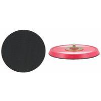 Klettteller rot 1162KL/125-1/4-20