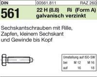 DIN561 AM10x25