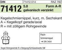Kegelschmiernippel AR1/8SW11