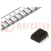 Tranzisztor: N/P-MOSFET; egysarkú; kiegészítő pár; 20/-20V; 0,4W