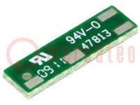 Antenna; Bluetooth, WiFi, ZigBee; f:2400MHz÷2483,5MHz; 0dBi; 50Ω