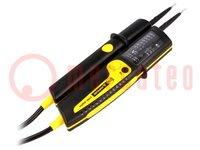 Tester: elektrische; 12 LED; V AC:12/24/50/120/230/400/690V