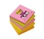 3M 654S-N self-adhesive note paper Square Green,Orange,Pink,Yellow 90 sheets