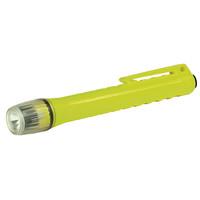 UK Minilampe 2AAA Penlight Xenon, neongelb , mit Heckschalter