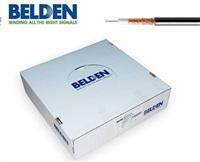 BELDEN H125 CU - koaxiální kabel, průměr 7mm, PE(venkovní), impedance 75 Ohm, černý, 100m