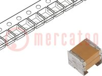 Kondensator: Keramik; MLCC; 22uF; 50V; X7R; ±20%; SMD; 2220