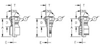 AEROQUIP 1S4BF4