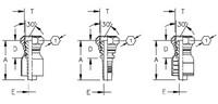 AEROQUIP 1S8BF6