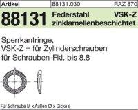 Sperrkantringe VSK-Z 8x12,7x2