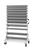 Estanterías rodantes de cajas de almacenaje a la vista sin dotación, ancho 1.030 mm