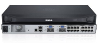 DELL DAV2216-G01 KVM-switch Rack-montage Zilver