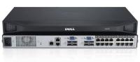 DELL DAV2216-G01 KVM-switch Rack-montage Zilver