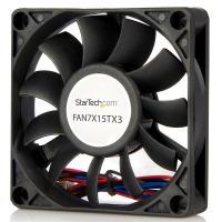 StarTech.com 70x15mm Ventilator voor Computerbehuizing met Kogellagers en TX3 Connector
