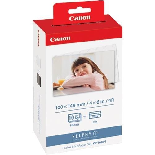 Canon KP-108IN papír/festék csomag Selphy nyomtatókhoz - 3115B001