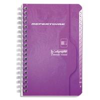 CALLIGRAPHE Répertoire spirale 70g 100 pages petits carreaux format 9x14-CALLIGRAPHE 7000