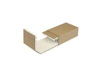 Noppenschaumverpackung, 250x150x80 mm, braun