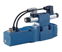 Bosch Rexroth 4WRKE25W8-350L-3X/6EG24EK31/A1D3M Directional control valve