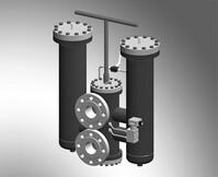 Bosch Rexroth 100FLDN0400H10XL-A00-09V5,0-D0M0A Duplex filter