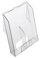 Prospekthalter PRO, 1, DIN A4, inkl. Einleger für DIN lang, 223 x 302 x 165 mm